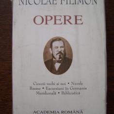 N.FILIMON - OPERE: CIOCOII VECHI SI NOI / NUVELE / BASME (editie de lux), 2005, Alta editura