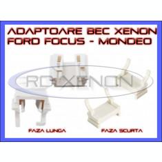 ADAPTOR - ADAPTOARE BEC XENON H7 FORD FOCUS, MONDEO - FAZA SCURTA, FAZA LUNGA