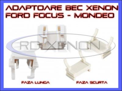 ADAPTOR - ADAPTOARE BEC XENON H7 FORD FOCUS, MONDEO - FAZA SCURTA, FAZA LUNGA foto