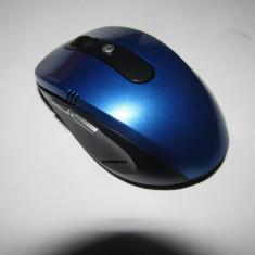 Mouse Wireless 2.4 GHZ cu micro usb - varianta pe albastru - 2016, Laser
