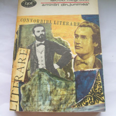 AMINTIRI DIN JUNIMEA IACOB NEGRUZZI VOL, 2 - Studiu literar