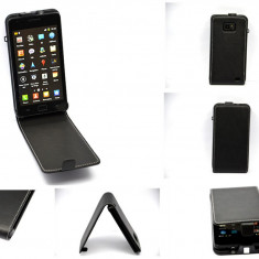 Husa flip toc piele samsung galaxy i9100 i9300 iphone 4 4s 5 - Husa Telefon Momax
