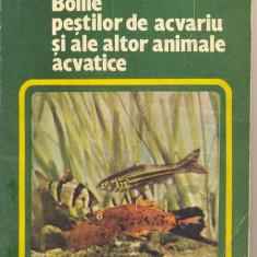 RADULESCU, VOICAN, LUSTUN - BOLILE PESTILOR DE ACVARIU SI ALE ALTOR ANIMALE...N3, Alta editura, 1983