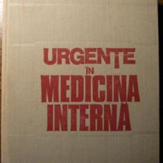 Carte - Gheorghe Mogos - Urgente in medicina interna