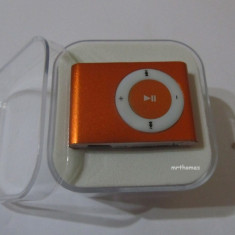 MP3 PLAYER portocaliu orange Model 2016 la cutie + casti si cablu usb