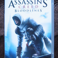 PSP joc - Assassin's Creed Bloodlines - Jocuri PSP Ubisoft, Actiune, 16+, Single player