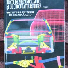 Ion D. Manoiu - 1001 Teste de mecanica auto si de circulatie rutiera vol.I- 400 teste si raspunsuri de mecanica auto