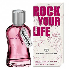 Tom Tailor Rock Your Life For Her EDT 40 ml pentru femei - Parfum femeie Tom Tailor, Apa de toaleta