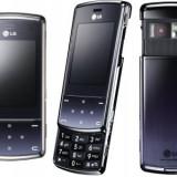 Telefon mobil LG KF510 - Telefon LG, Negru, Neblocat, 2 GB, 2.2'', Cu slide