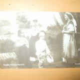 Carte postala Familia princiara romana 1911