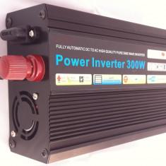 INVERTOR( convertor SINUS SIN PUR ) 24 v la 220V SINUSOIDA PURA 300W REALI !