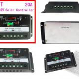 REGULATOR CONTROLER SOLAR RELEU de incarcare fotovoltaice 12v / 24v 20A