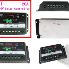 REGULATOR CONTROLER SOLAR Regulator de incarcare fotovoltaice 12v / 24v 15A
