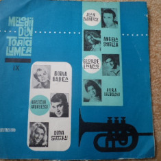 MELODII DIN TOATA LUMEA volume diferite compilatie disc vinyl lp Muzica Pop electrecord, VINIL
