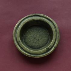 piesa deosebita din bronz pentru lumanari sau scrumiera !!!