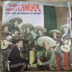 Roberto si Antonio Cantoral Los Plateados de Mexico Muzica Latino electrecord disc vinyl lp, VINIL