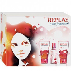 Replay Your Fragrance! for her Set 20+50+50 pentru femei - Set parfum