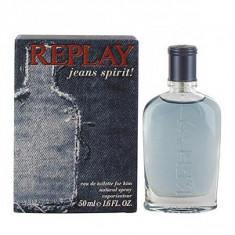 Replay Jeans Spirit! For Him EDT 50 ml pentru barbati - Parfum barbati Replay, Apa de toaleta