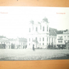 Carte postala Timisoara Temesvar hosonezy - ter 1910