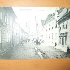 Carte postala Sibiu Hermannstadt Fleischergasse 1907
