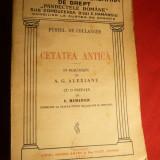 Fustel de Coulanges - Cetatea Antica - trad.A.G.Alexianu 1929