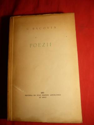 G.Bacovia - Poezii - Antologie 1957 foto