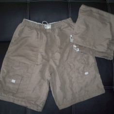 Pantaloni scurti Epoche, detasabili; marime L, vezi dim.; impecabili, ca noi - Bermude barbati, Marime: L, Culoare: Din imagine
