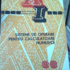 Ioan Georgescu - Sisteme de operare pentru calculatoare numerice - Carte sisteme operare