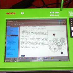 Bosch KTS 650 - Baterie auto