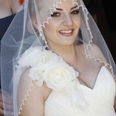 Rochie mireasa princessa by calin events cu cristale - Rochie de mireasa printesa