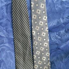 Cravate BOSS si GIORGIO ARMANI - Cravata, Geometric