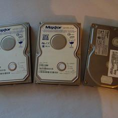 De vanzare 3 HDD Maxtor - Hard Disk Maxtor, 40-99 GB, SATA