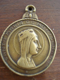 Cumpara ieftin medalion santa Maria de Monsserat (verso: SAN CRISTIBAL)