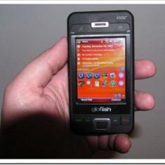 Eten Glofish X500, sau la schimb - PDA Eten, Touchscreen si taste, 16 M, 480 x 854 pixeli, Argintiu, 1-2 megapixeli