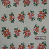 Tatuaj transfer pe baza de apa sticker pentru decorare unghii BLE 1417 - Model unghii