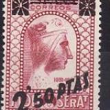 Spania 1938 - Yv.no.634, serie completa neuzata