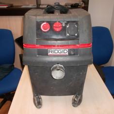 Vand aspirator apa RIDGID IS, cu proba. - Aspirator/Tocator frunze