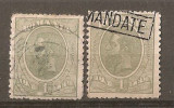 TIMBRE 75, ROMANIA, 1918/19, MOLDOVA, EROARE, 1 LEU, CAROL I, GOL IN CASETA LUI 1; ERORI, CURIOZITATE, VARIETATE, CURIOZITATI, VARIETATI, ECV, ATIPICE, Regi