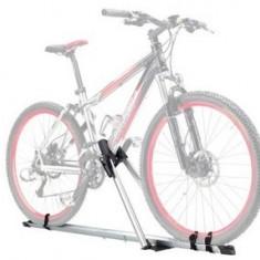 Suport Bicicleta Aluminiu cu Sistem Incuiere Green Valley pentru Bare Transversale Portbagaj Auto