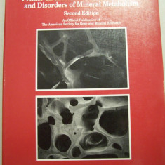 PRIMER ON THE METABOLIC BONE DISEASES AND DISORDERS OF MINERAL METABOLISM - Carte Ortopedie