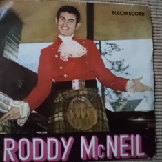 RODDY McNEIL single disc vinyl muzica pop usoara slagare cerbul de aur brasov