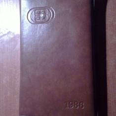 Agenda 1986 nefolosita, nescrisa (centrala industriei confectiilor bucuresti ) - Agenda scolara
