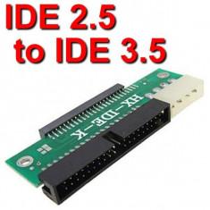 ADAPTOR HARD DISC HDD IDE 3, 5 LA IDE 2, 5 - Cabluri si conectori laptop