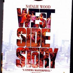 DVD original SUA, filmul West side story, cu Natalie Wood, sistem NTSC - Film Colectie, Engleza