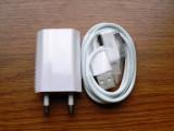 Cablu iPhone 4 + Incarcator priza