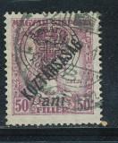RFL 1919 ROMANIA Emisiunea Oradea eroare Zita Koztarsasag 50B uzata 8ani