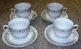 Set / serviciu - ceai / cafea -  portelan China - marcat