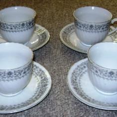 Set / serviciu - ceai / cafea - portelan China - marcat - Ceasca