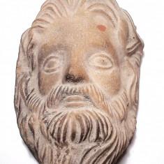 AuX: Veche CANDELA De Perete Din Ceramica .. Isus - Arta Ceramica