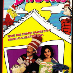 Caseta video In search of Dr Seuss, origana SUA, sistem NTSC, 115 minute - Film animatie, DVD, Engleza